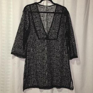 Beach cover up or tunic